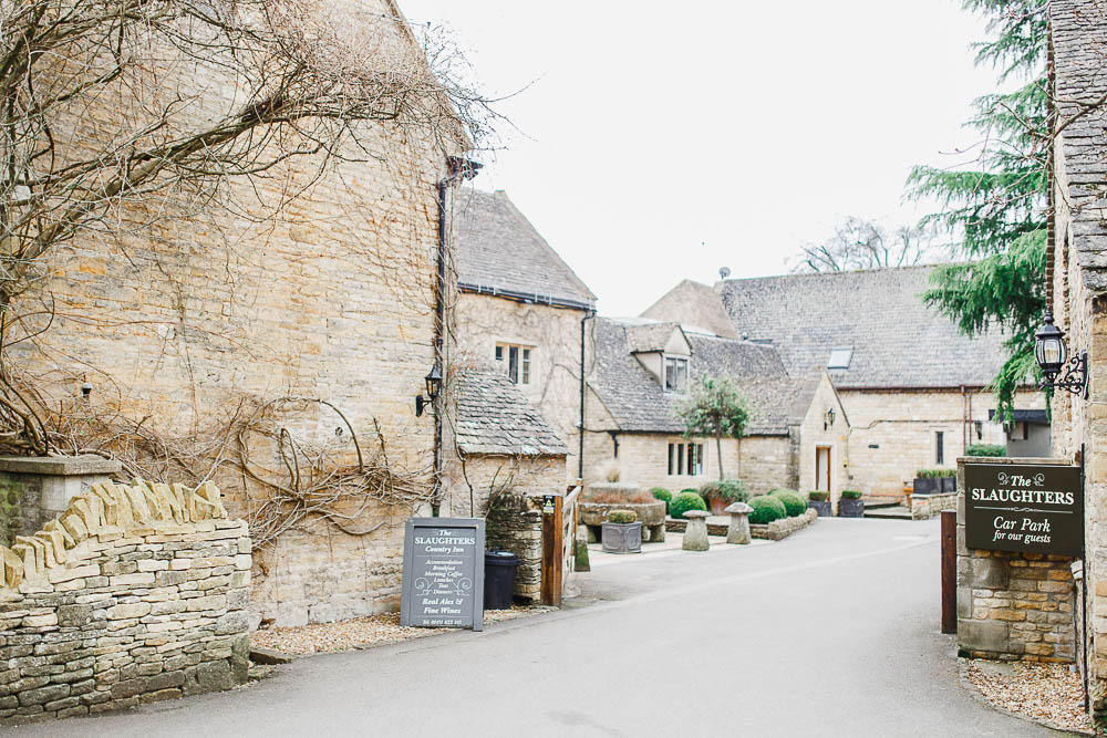 lower slaughter pub