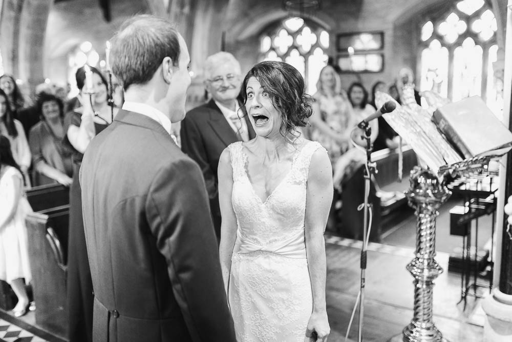 lower slaughter church wedding