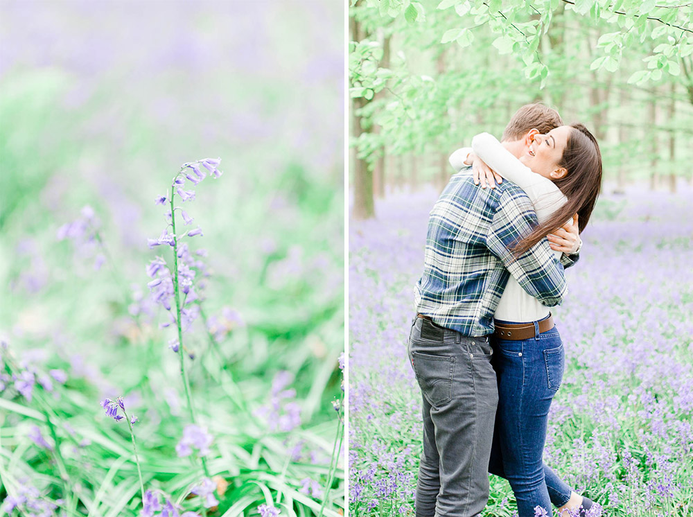 Bluebell Pre Wedding Photography Kent