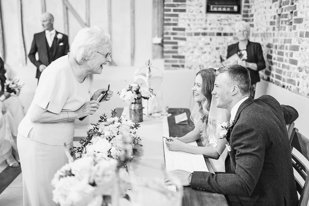 Upwaltham Barns West Sussex Wedding Photography