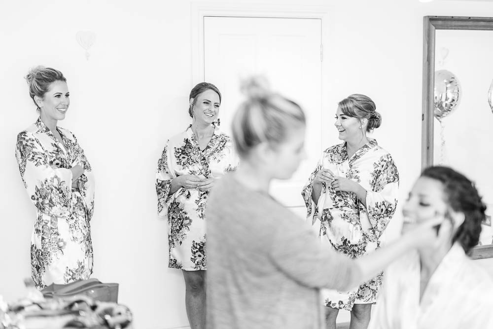 light airy blake hall coach house bridal prep