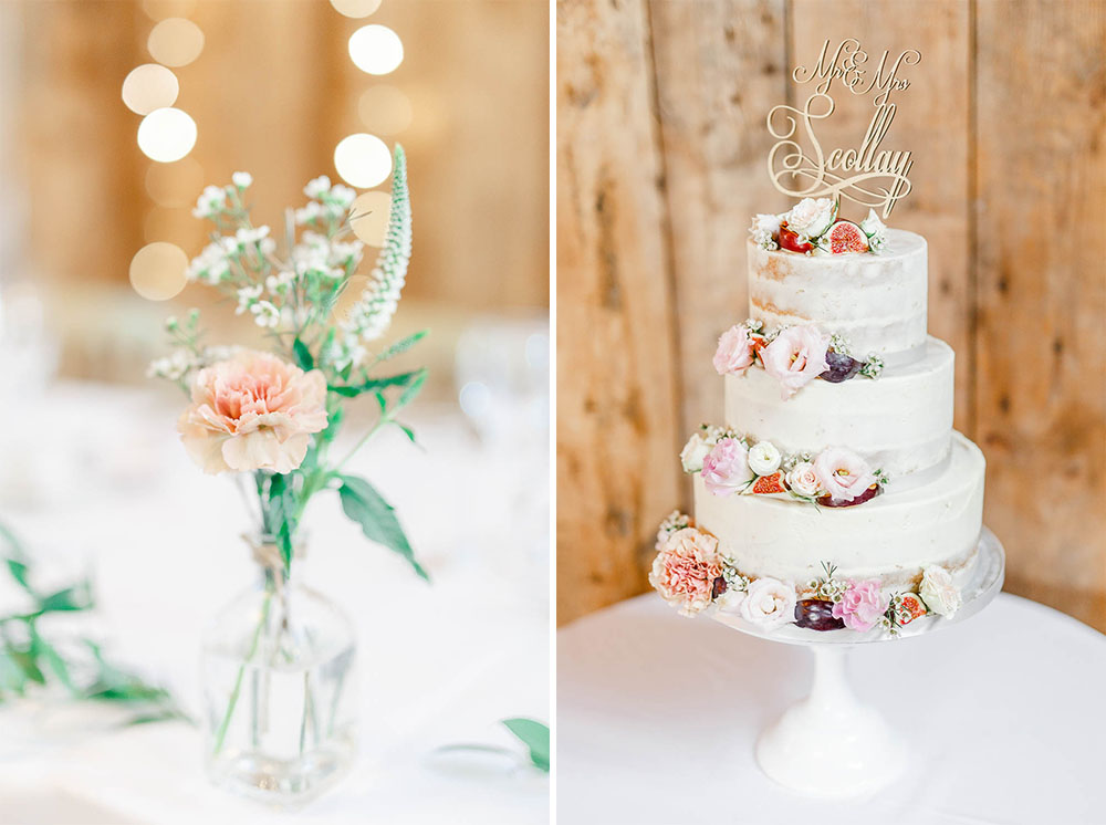 pastel blake hall wedding reception