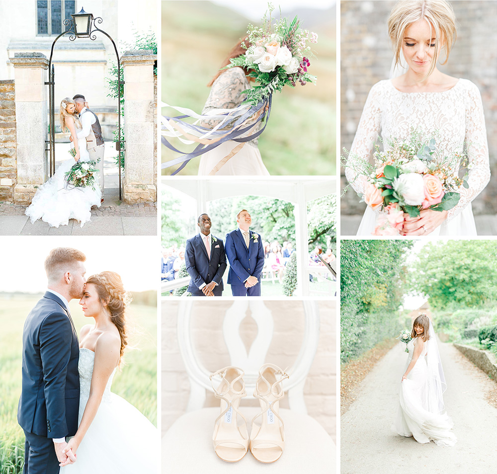 destination wedding photographers uk with a light and airy wedding photography style