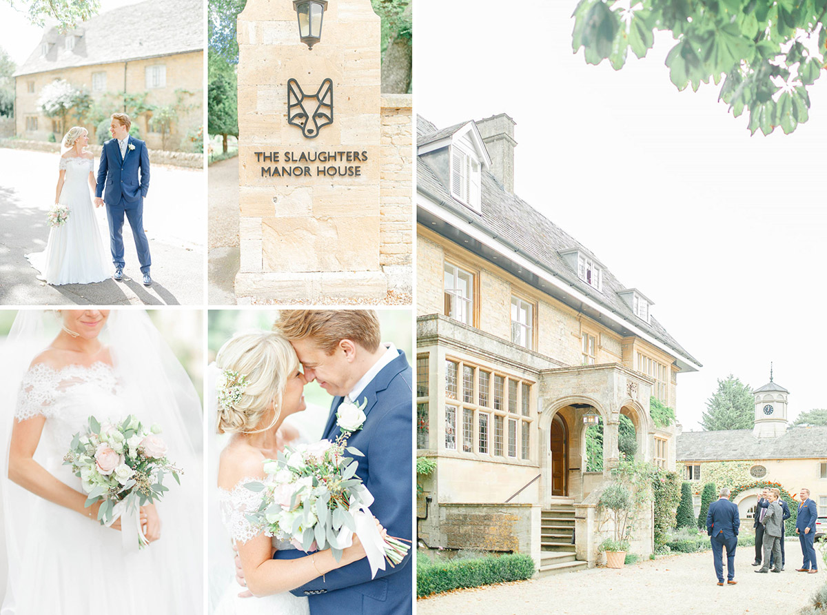Lower Slaughter Manor Wedding Cotswolds