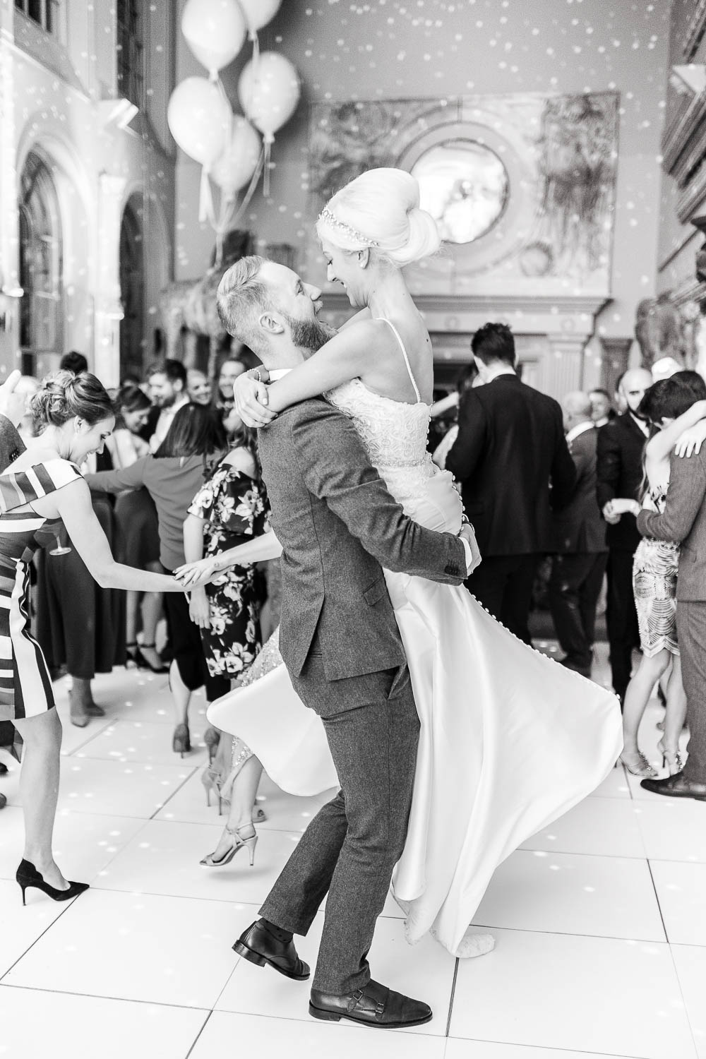 Aynhoe Park Wedding Photography. Wedding Reception at Aynhoe Park