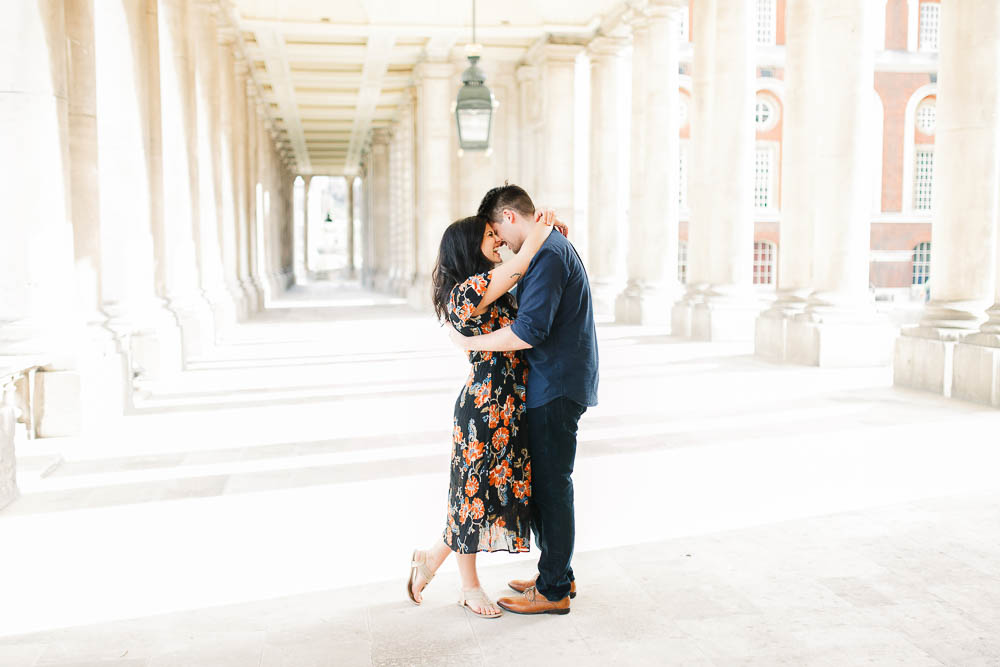 Fine Art London Couple Photography