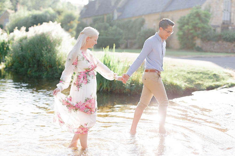 fine art pre-wedding photographs cotswolds