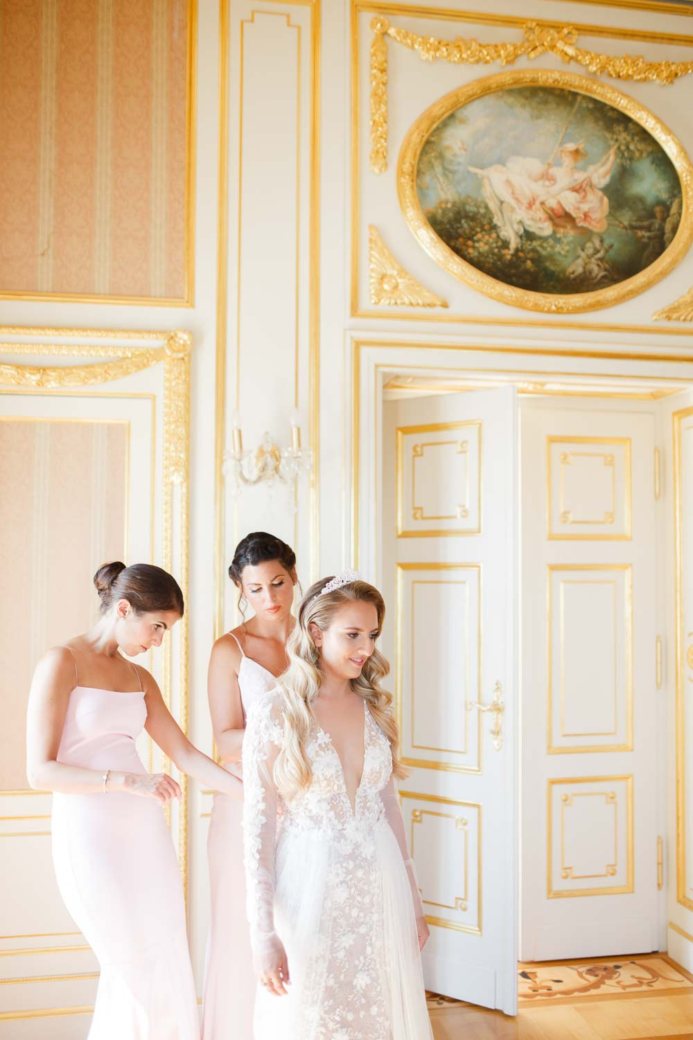 Chateau Saint Georges Wedding Preparations