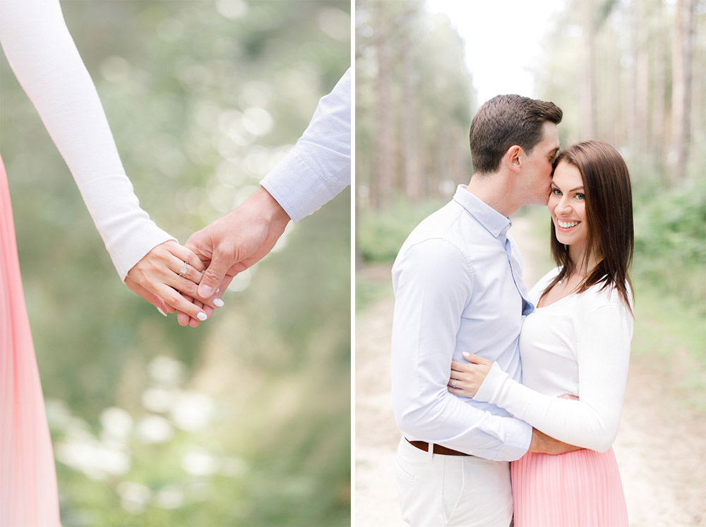 engagement shoot in the south-east
